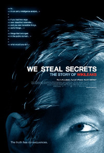 Alex Gibney's 'We Steal Secrets' film poster