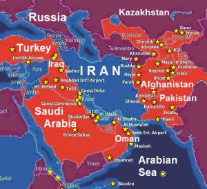 Iran surrounded by US bases 2